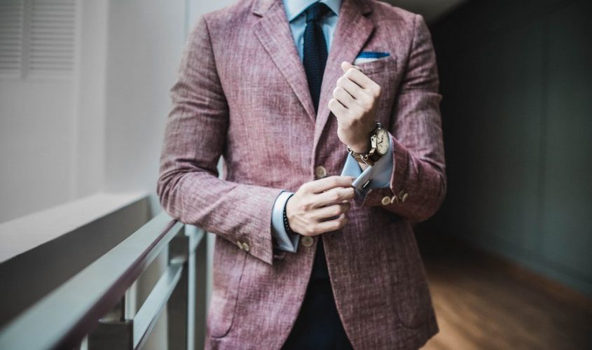 Men's wardrobe styling with pants