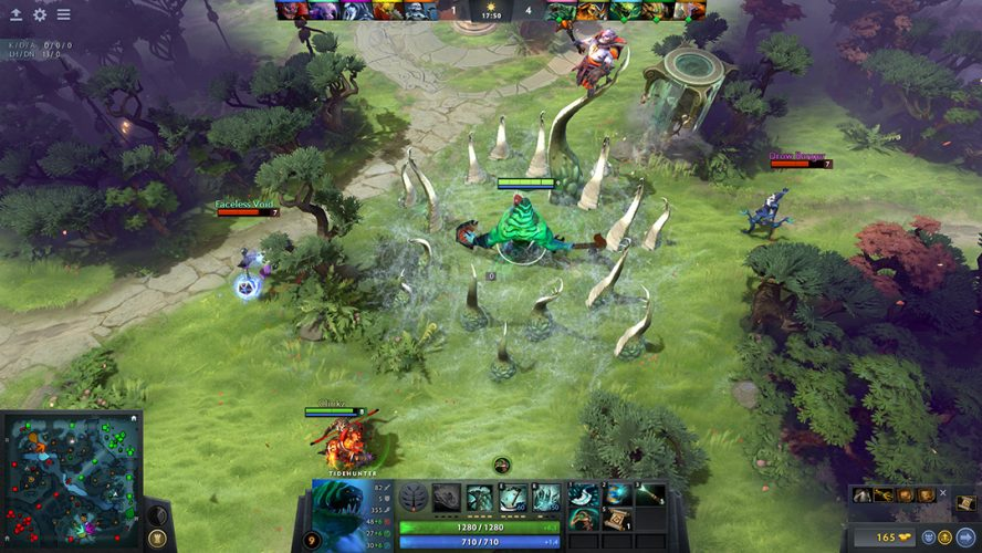 About Dota 2: Heroes of the Storm